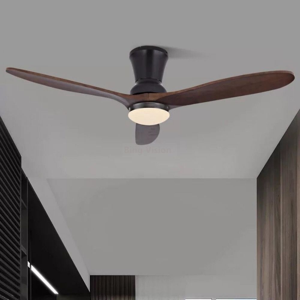 American Village Industrial Wooden Ceiling Fan With Lights Wood Ceiling Fans Without Light Decor In 2020 Wood Ceiling Fans Ceiling Fan Modern Ceiling Fans Living Room