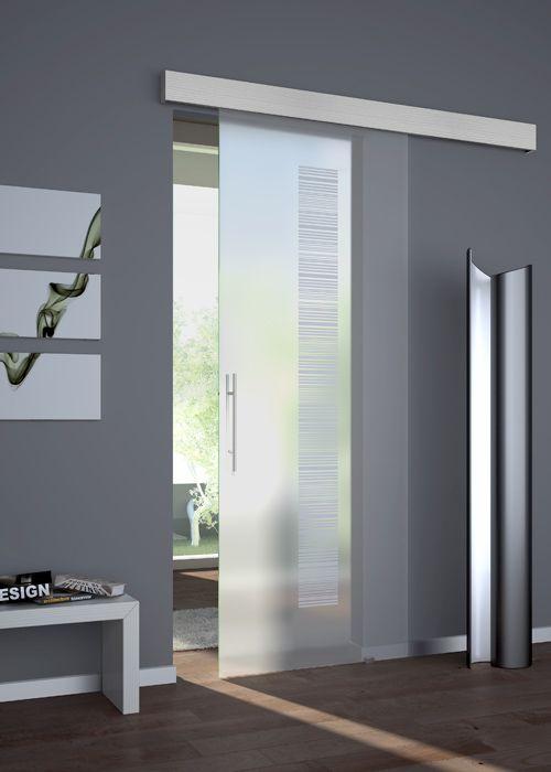 Risultati immagini per porte tuttovetro | Porta scorrevolissima ...