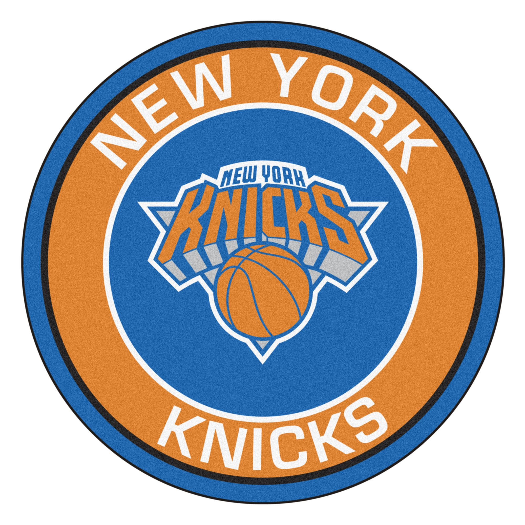 Nba New York Knicks Rounded Non Skid Mat Area Rug In 2020 Nba New York New York Knicks Knicks Team