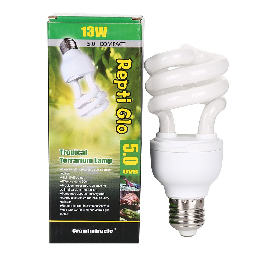 Reptile Uv Uvb Light Bulbs For Turtle 5 0 10 0 13w Uv Uvb Lamp