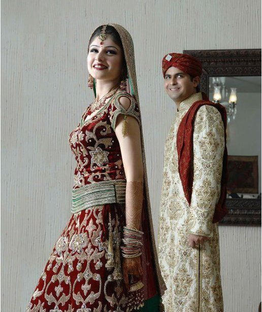 SANZ\'s Latest Bridal & Groom Dresses Collection | Dresses ...