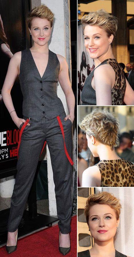 Evan Rachel Wood's New Hair