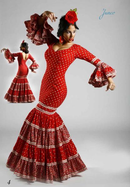 Trajes de flamenco de mujer