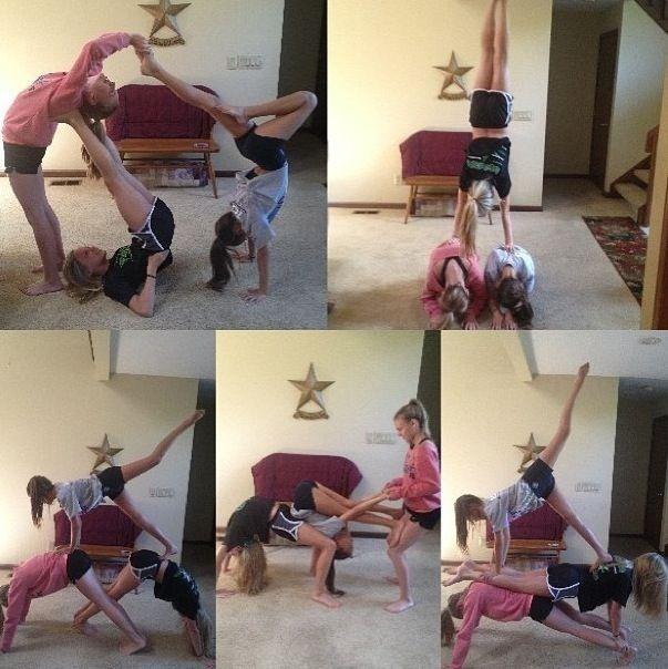 Pin By Logan On Gymnastics Acro Yoga Poses Yoga Challenge Poses Partner Yoga Poses