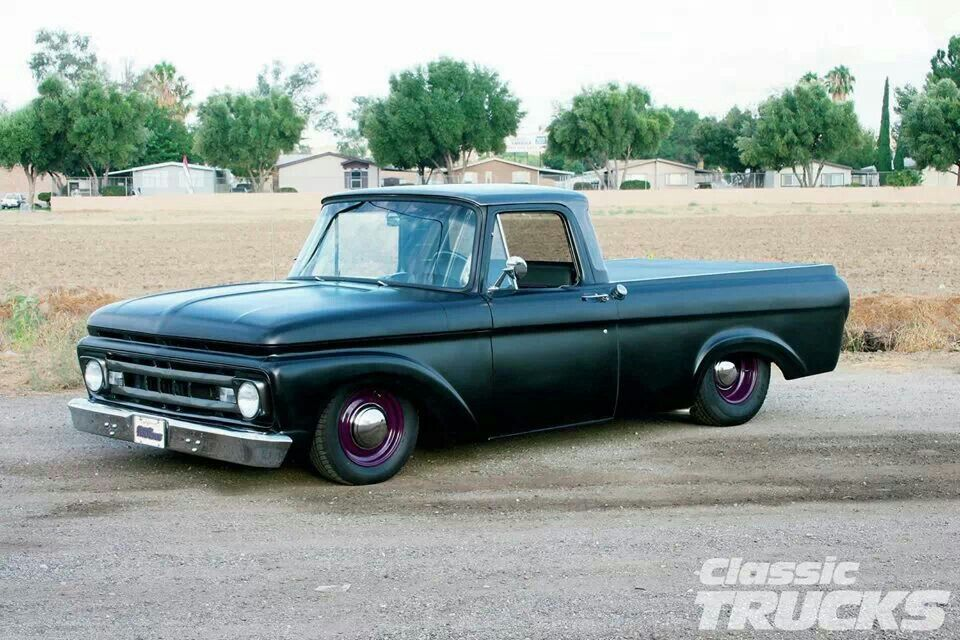 1962 Ford F-100 | Slick | Pinterest | Ford, Ford trucks and Cars