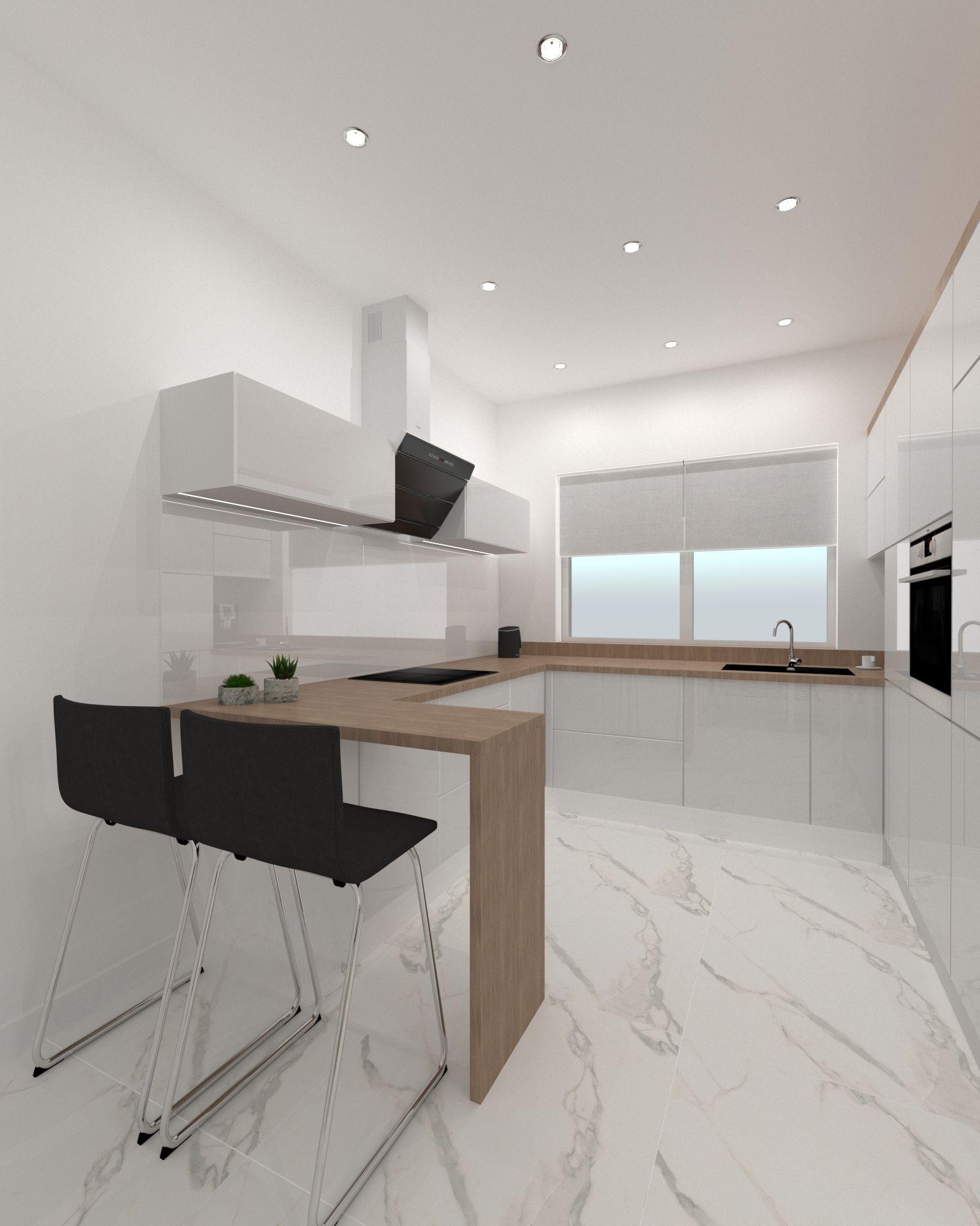 Kuchnia Z Bufetem Sniadaniowym Interior Design Home Decor Home