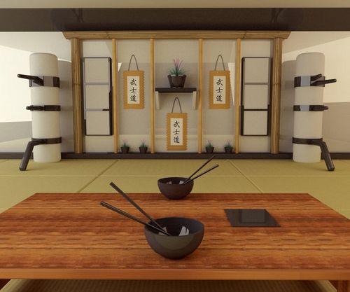 Japanischen Häusern Innendekoration   Japanischen Zeichen