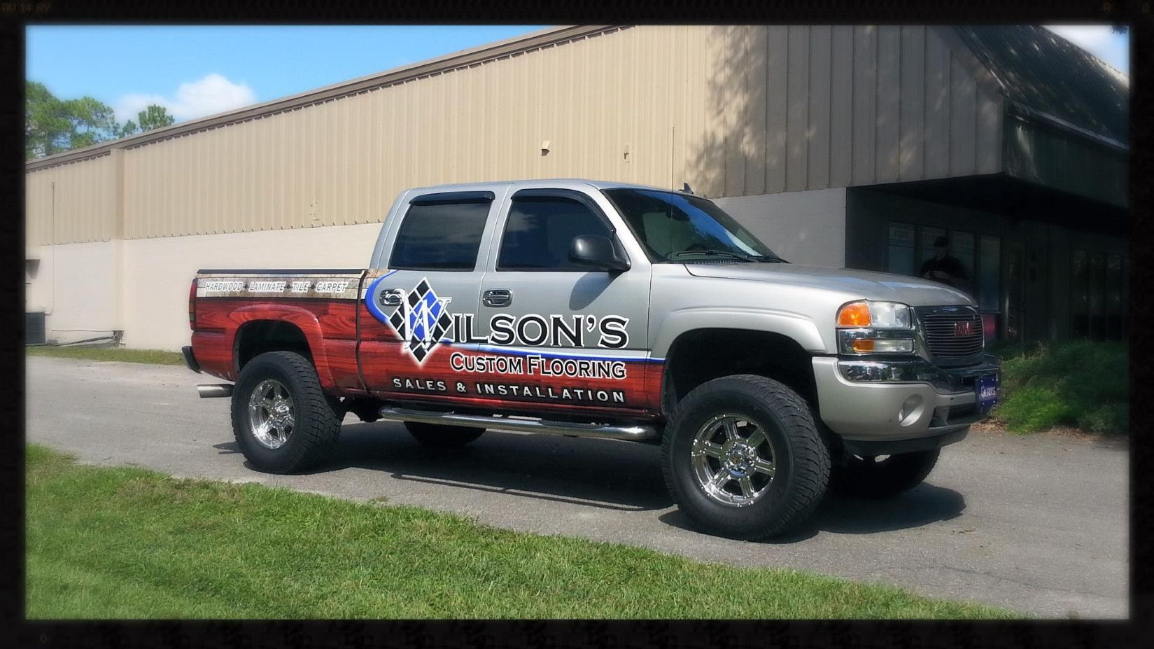 Pin by T Cristello on Vehicle Wraps   Flooring sale, Car ...