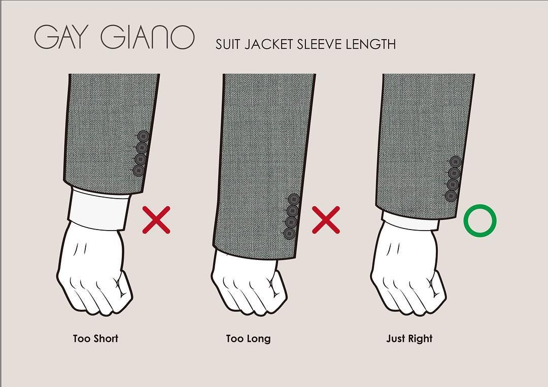 Suit jacket sleeve length. @ggiano3d , , mensuits suits