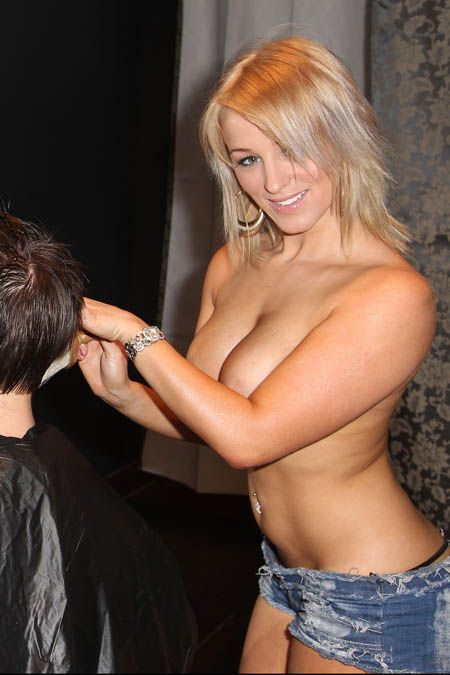 A Gentlemens Hair Salon In Sydney Australia Is Now Offering Topless Haircuts From Four Confident Female Hairdressers