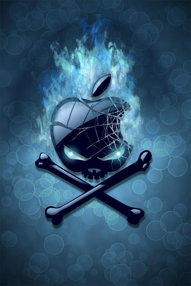 Apple Iphone Skull Wallpaper Bing Images Seni Tengkorak Wallpaper Iphone Seni