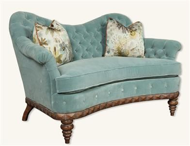 BELLE BLEU SOFA From Victorian Trading Co