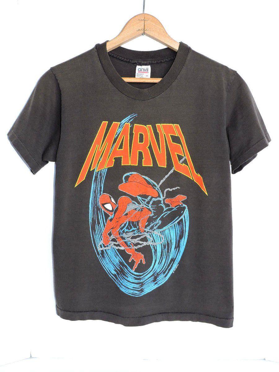 #Popular - RARE Vintage 90s 1991 Spiderman Marvel Comics Superhero T-shirt M Cartoon Movie  http://dlvr.it/Mfg3Pl - http://Ebaypic.twitter.com/x66YfucLC5