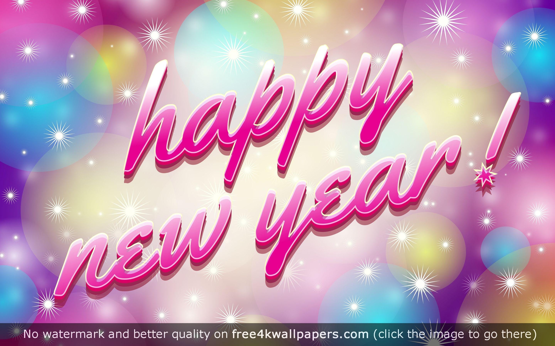 Happy New Year 4K 5K HD wallpaper Download Happy New