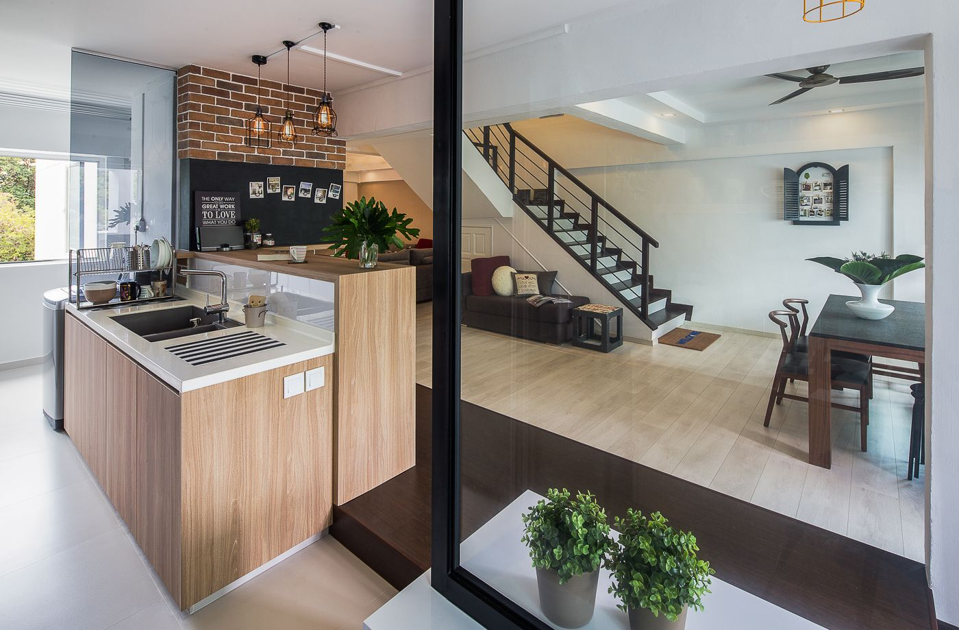 Syrb Home Interior Design Portfolio Maisonette In Tampines Bar