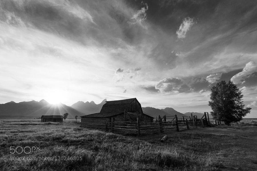 Moulton Sunset by jimmynotjim
