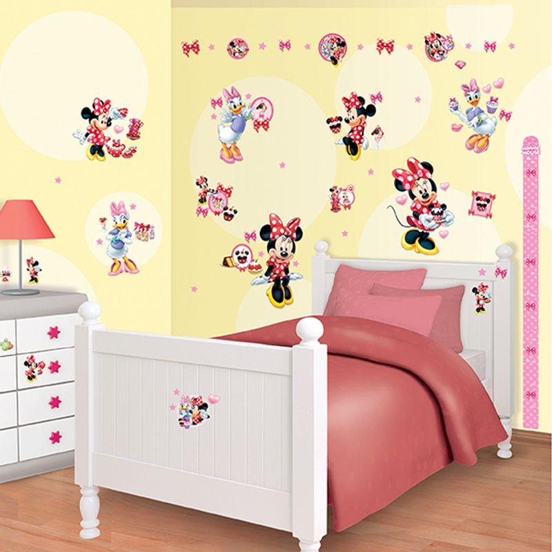 Walltastic Disney Minnie Mouse Room Decor Kit Minnie