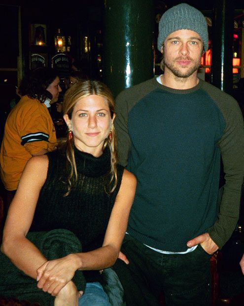 Brad Pitt and Jennifer Aniston | Jennifer & Brad ...