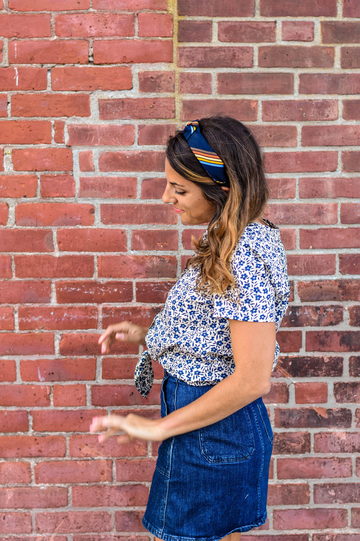 Mens tie headband tutorial one crafdiy girl diy diy