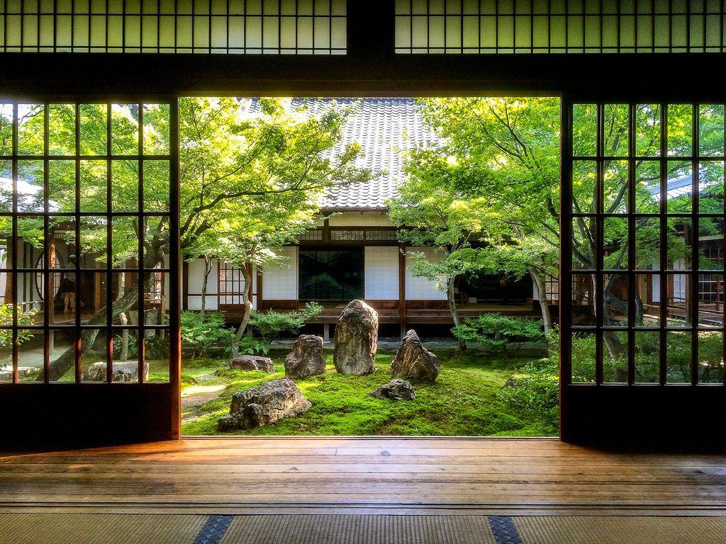 Kennin Ji Kyoto 建仁寺 京都 日本庭園の設計 日本庭園 和のインテリア