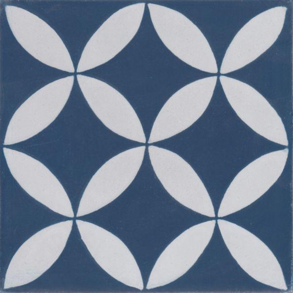 Carreau Ciment Diffusion Ceramique Sophie décor 20x20cm TRC2020C154