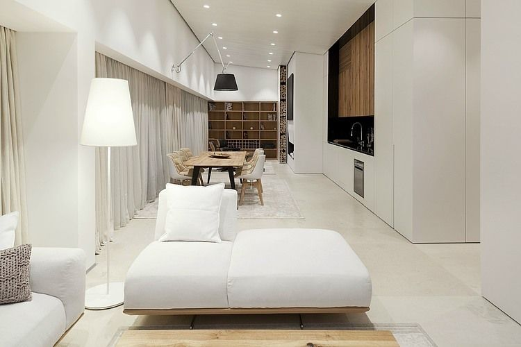 Mountain Loft by Svetoslav Todorov #simple #luxury # white&wood