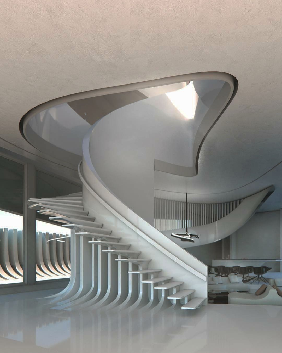 Best 13 Spiral Staircase Design Ideas For Small Spaces 400 x 300