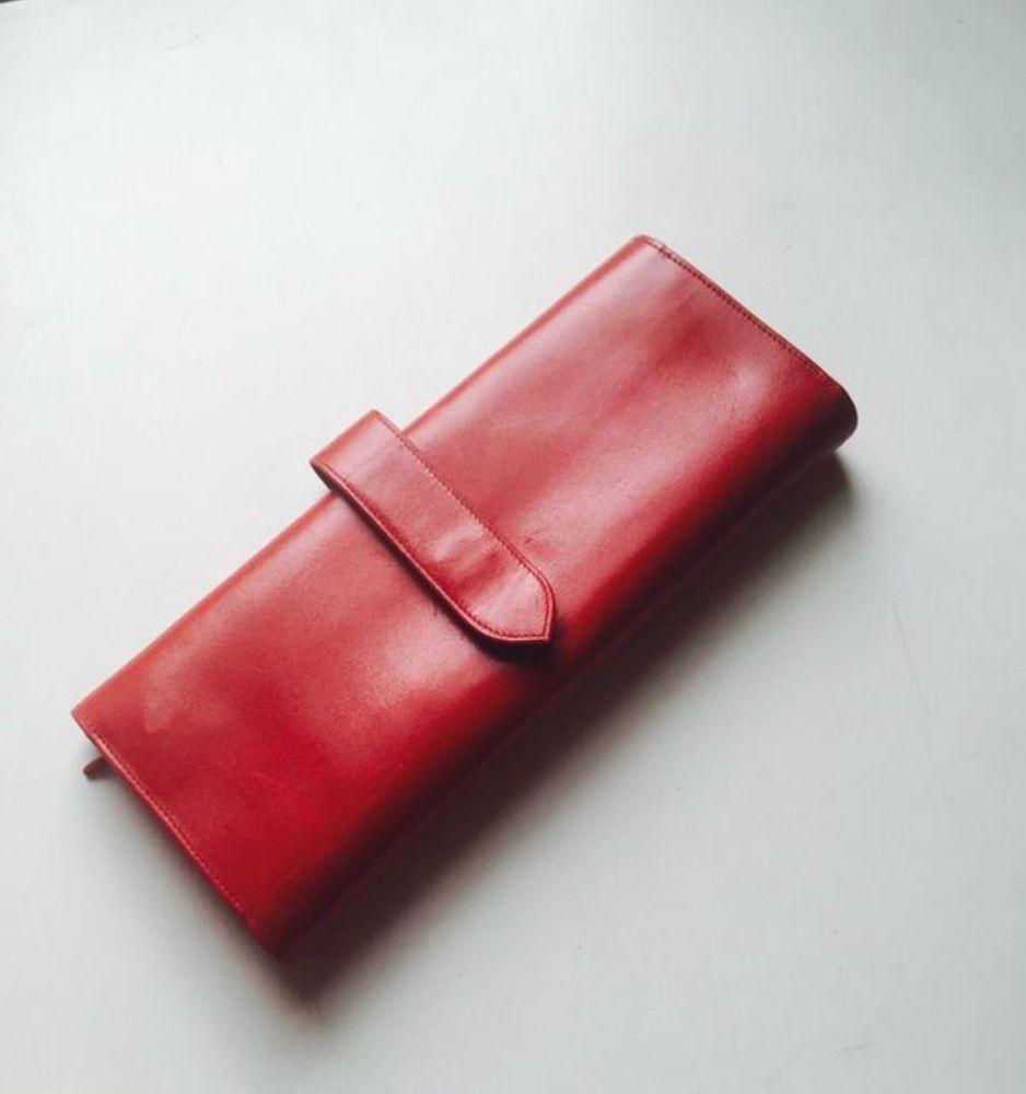 850d0034c6f jewelry Holder Travel - Tiffany   Co W Germany Kid Red Leather Travel  Jewelry Holder Folder