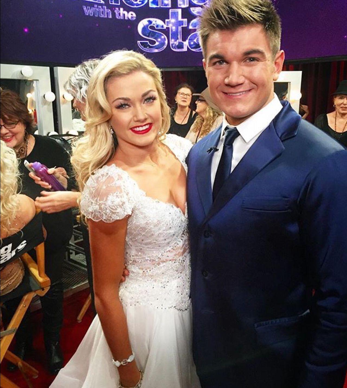 Alex & Lindsey! DWTS 11/16/15 Wedding dress inspiration