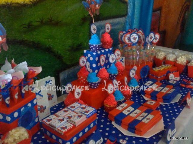 candy bar spiderman fiestas y cumples temticos - Fiestas Y Cumples