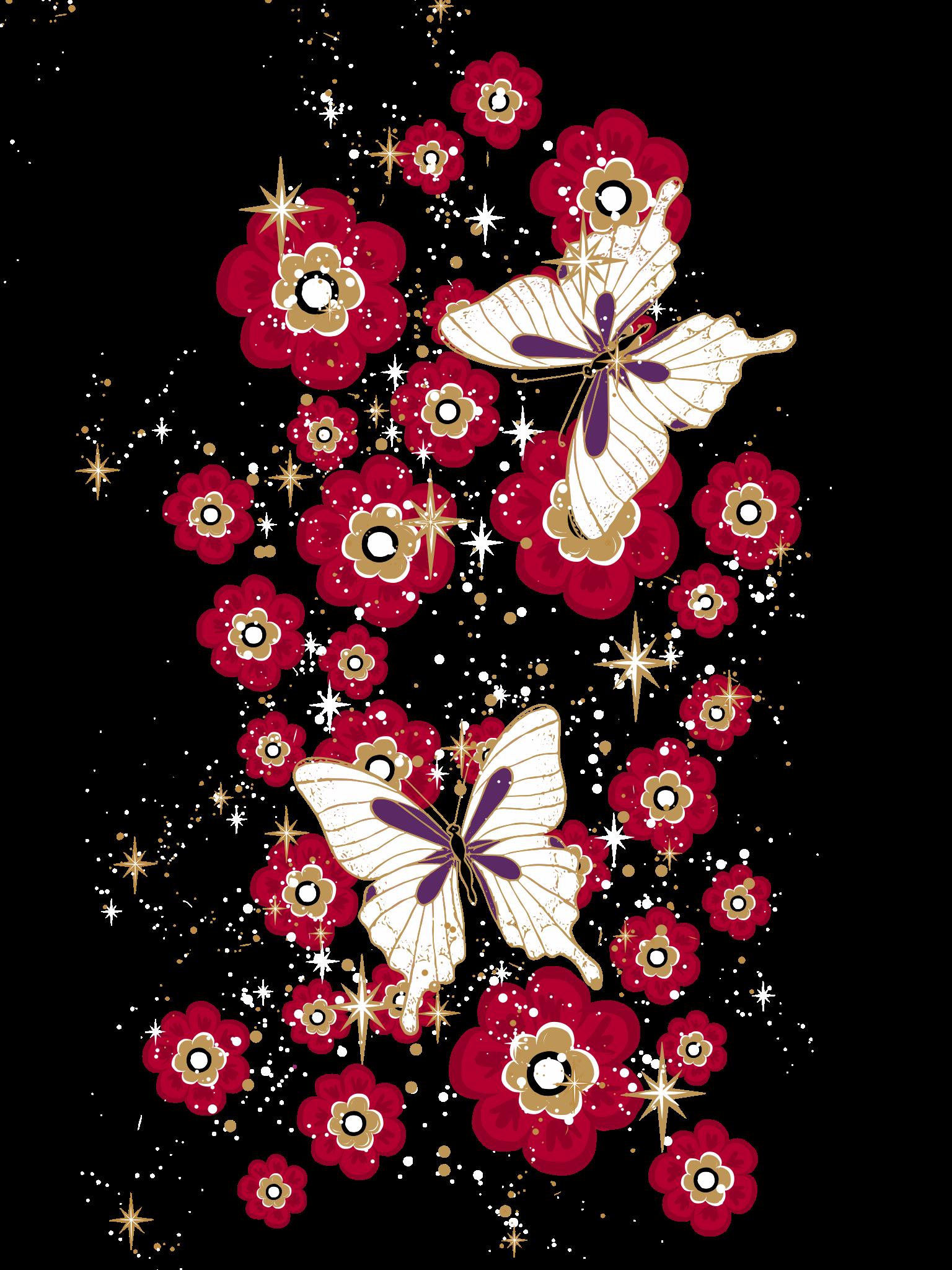 Butterfly Garden. Casetify iPhone Art Design Cool