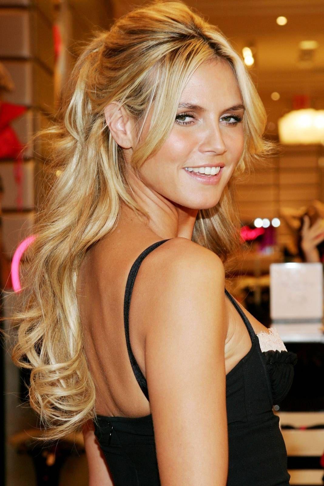 Love her and her hair hair pinterest heidi klum hair style
