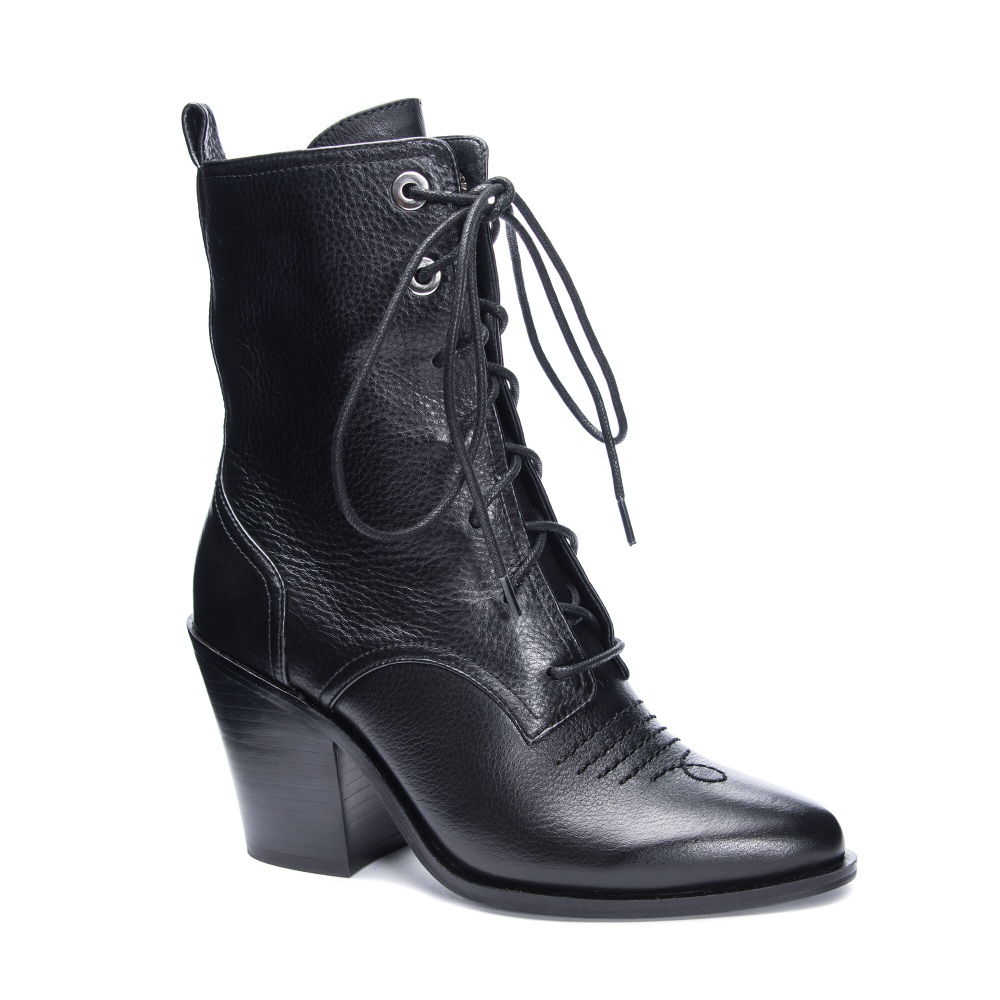 Chinese Laundry Sabrina Leather Bootie Chinese Laundry Boots