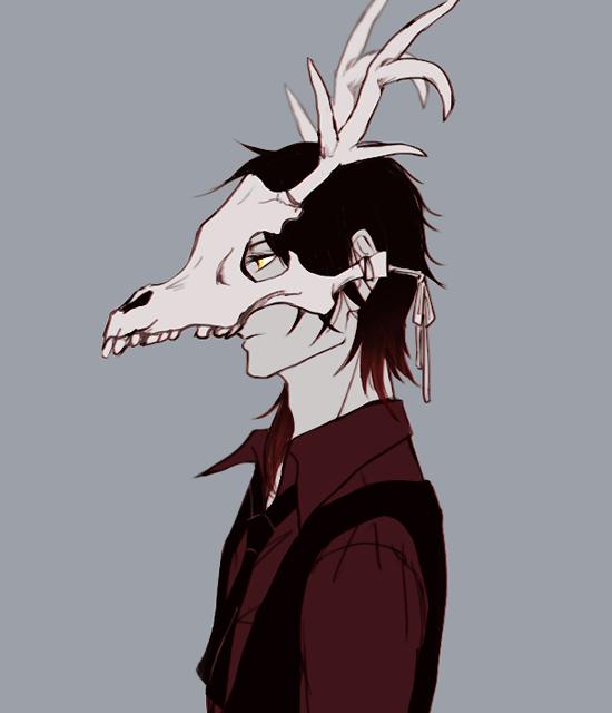 male anime character wallpaper gas masks anime skull