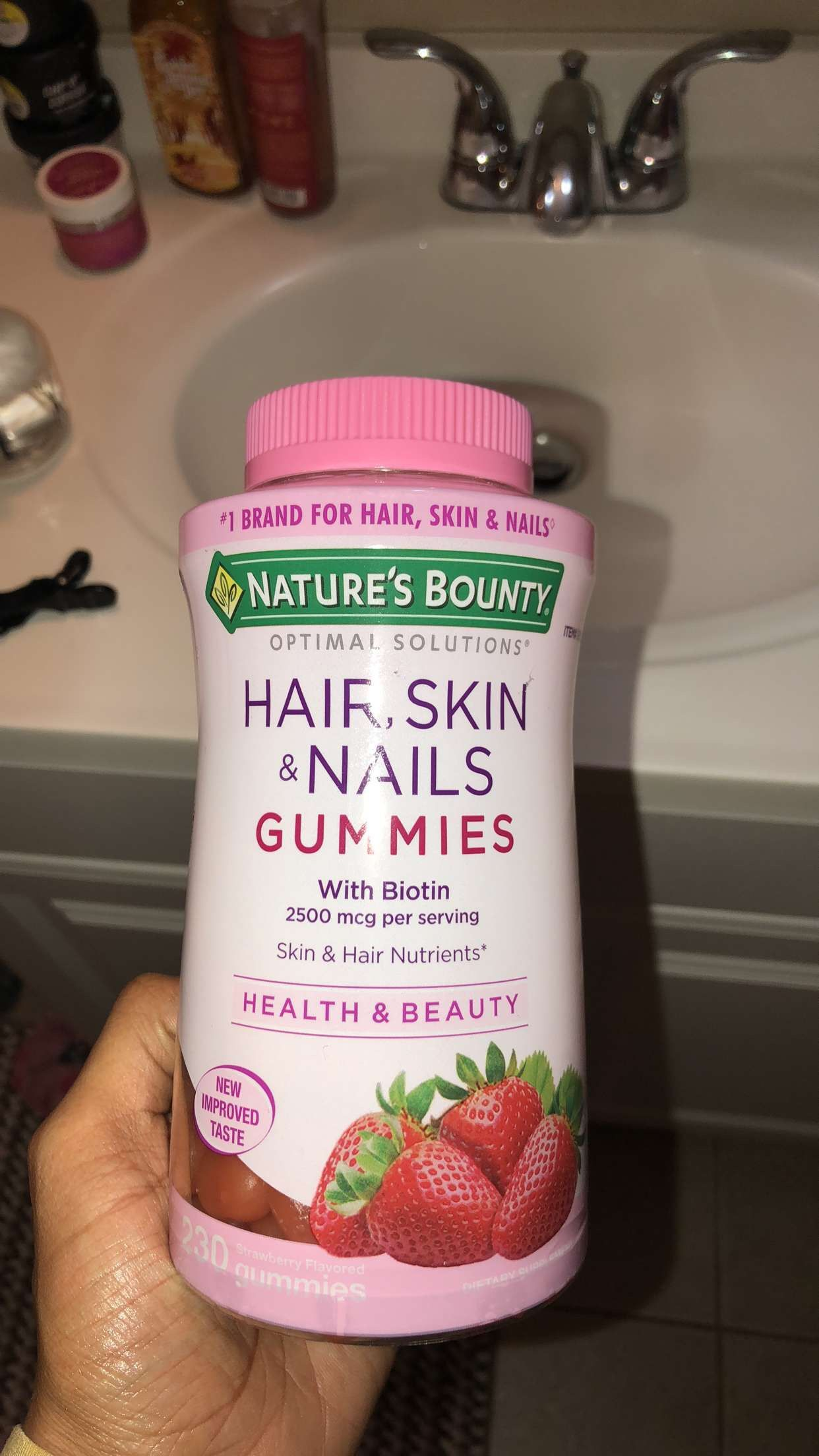 The best vitamins for hair and nail growth plus has my skin looking ...