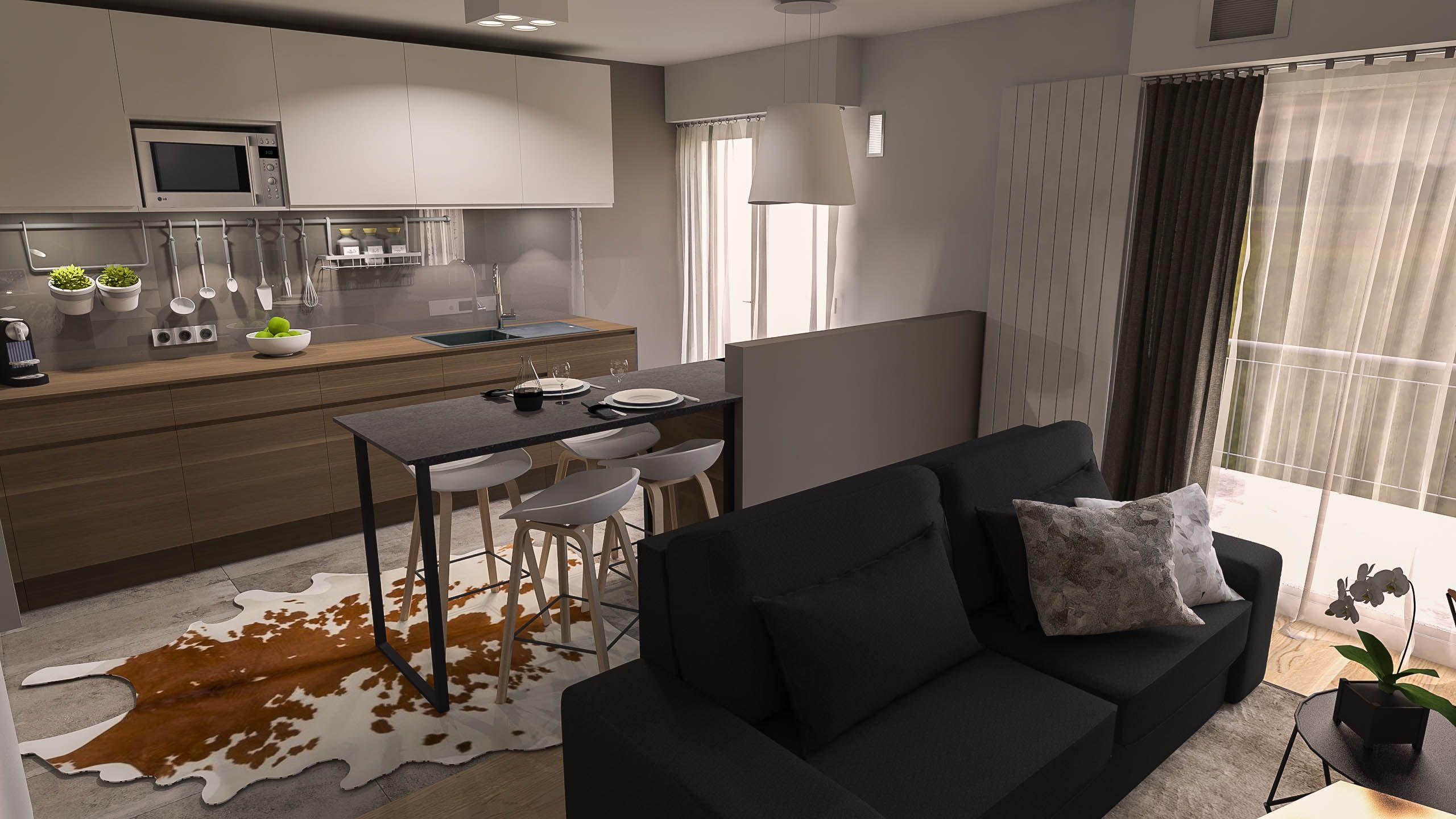 Architecture intérieure. Rénovation d'un appartement