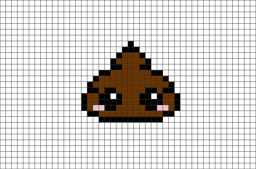 f6456a28026eadf7321ea5e71b15d2ae Easy Cute Pixel Art With Grid @koolgadgetz.com.info