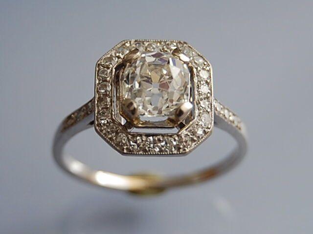 bague art d co wedding bijoux d 39 amour pinterest jewel ring and art deco. Black Bedroom Furniture Sets. Home Design Ideas