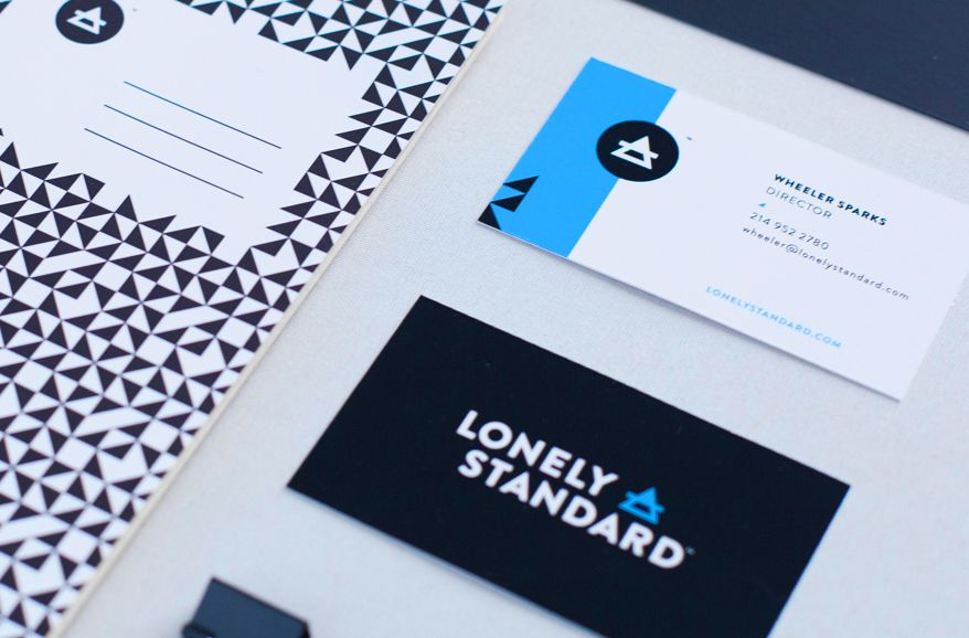 Lonely Standard - Business Card Design Inspiration | Card Nerd ...