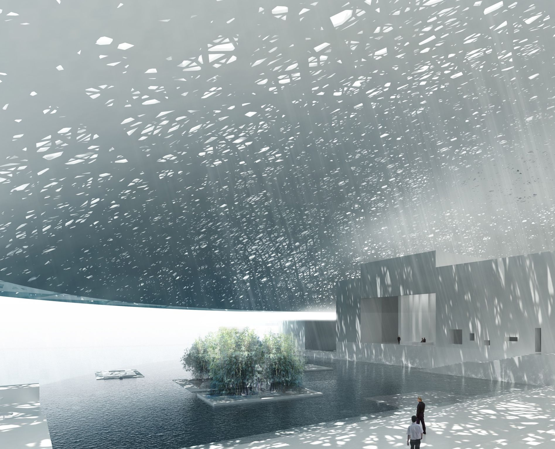 Louvre Abu Dhabi, Abu Dhabi, UAE. Image: Courtesy Atelier Jean Nouvel, Artefactory, Louvre Abu Dhabi, © TDIC.  Find out more: http://bit.ly/1Hpmeol