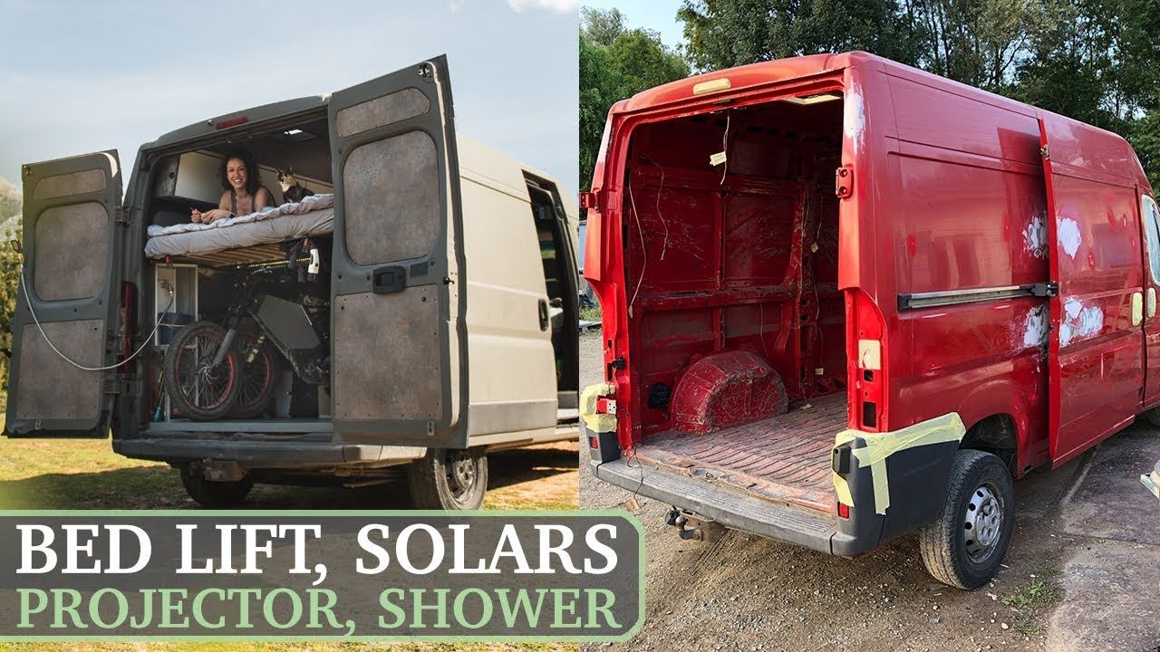 How to Build a Home Made Camper Van / Start to Finish DIY