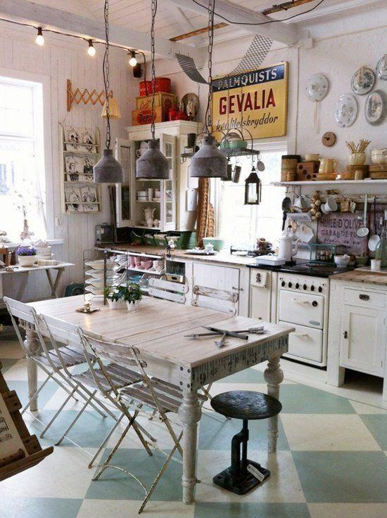 Detalles vintage para la cocina   Cocina vintage, Cocinas y Deco