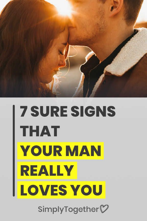 9 Signs Of True Love From A Man   Signs of true love