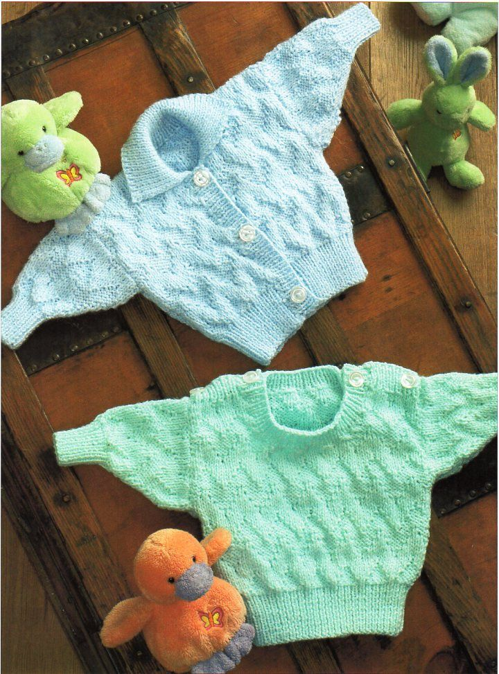 2d423262b baby sweater cardigan knitting pattern pdf button shoulder jumper ...