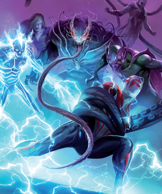 Marvel Artwork - 스파이더맨 - 웹