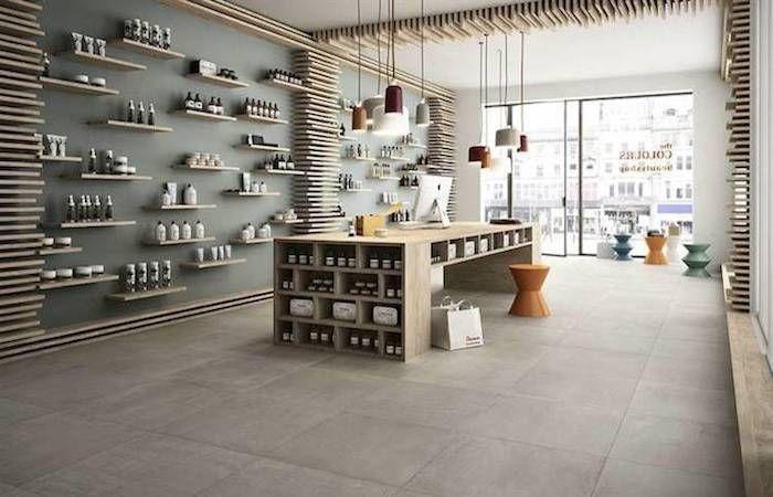 graue fliese feinsteinzeig in großformat 60x60 cm beton zement ... - Graue Fliesen