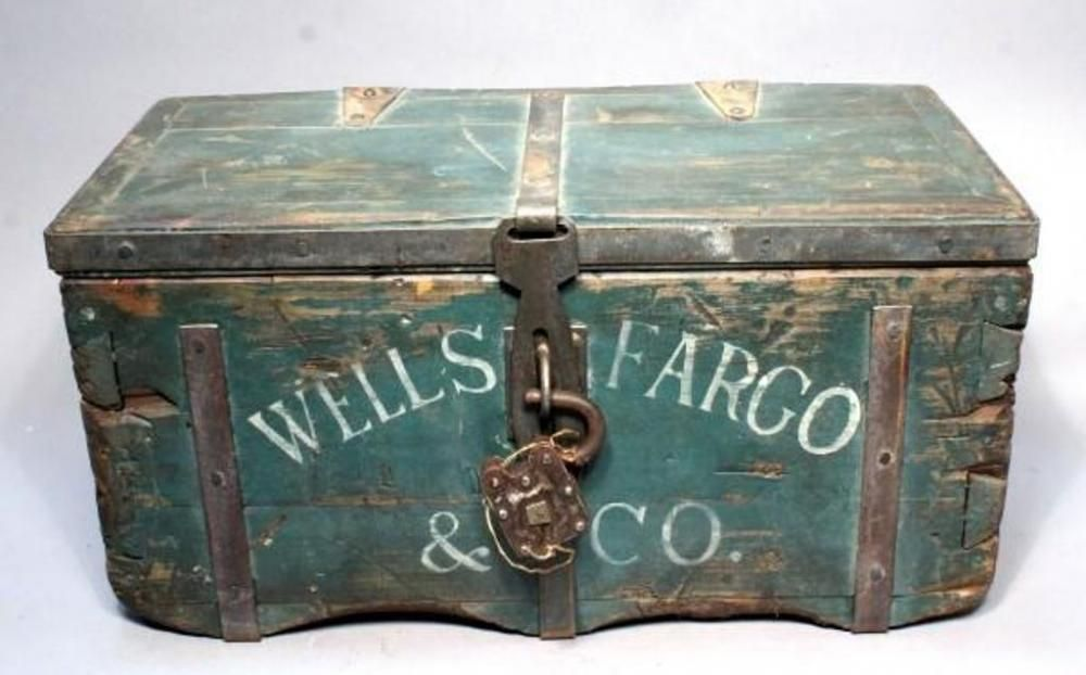 Wells Fargo u0026 Co Stagecoach Strong Box