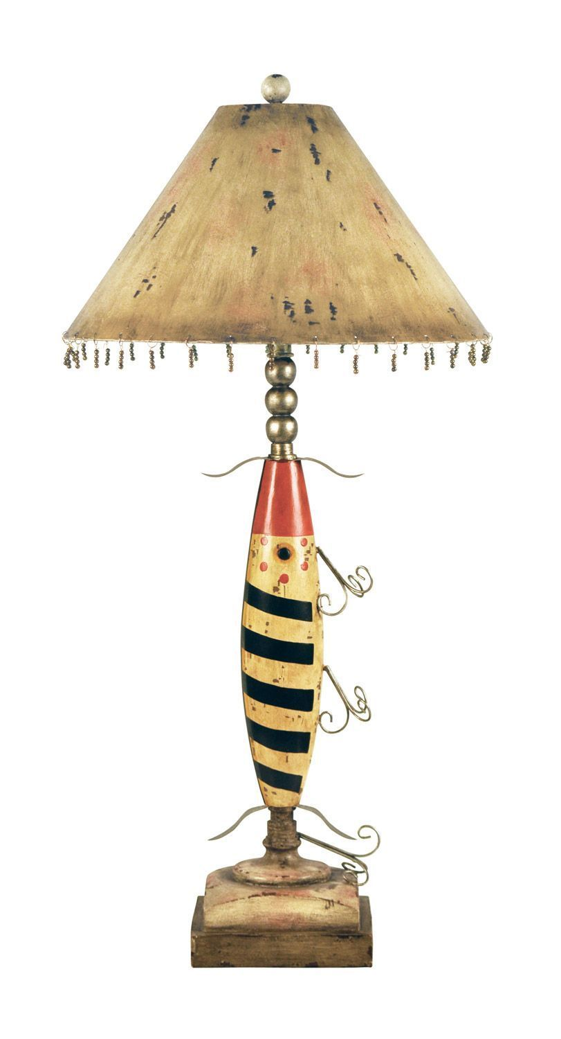 Nifty fishing lure buffet table lamp rustic lodge cabin lake fish nifty fishing lure buffet table lamp rustic lodge cabin lake fish aloadofball Images