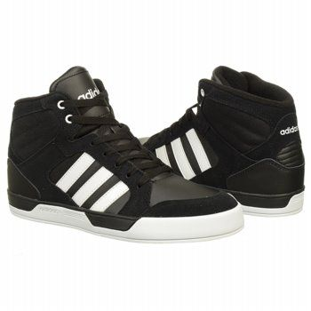 Adidas Bbneo St Daily Mens BlackWhite Athletic Shoes