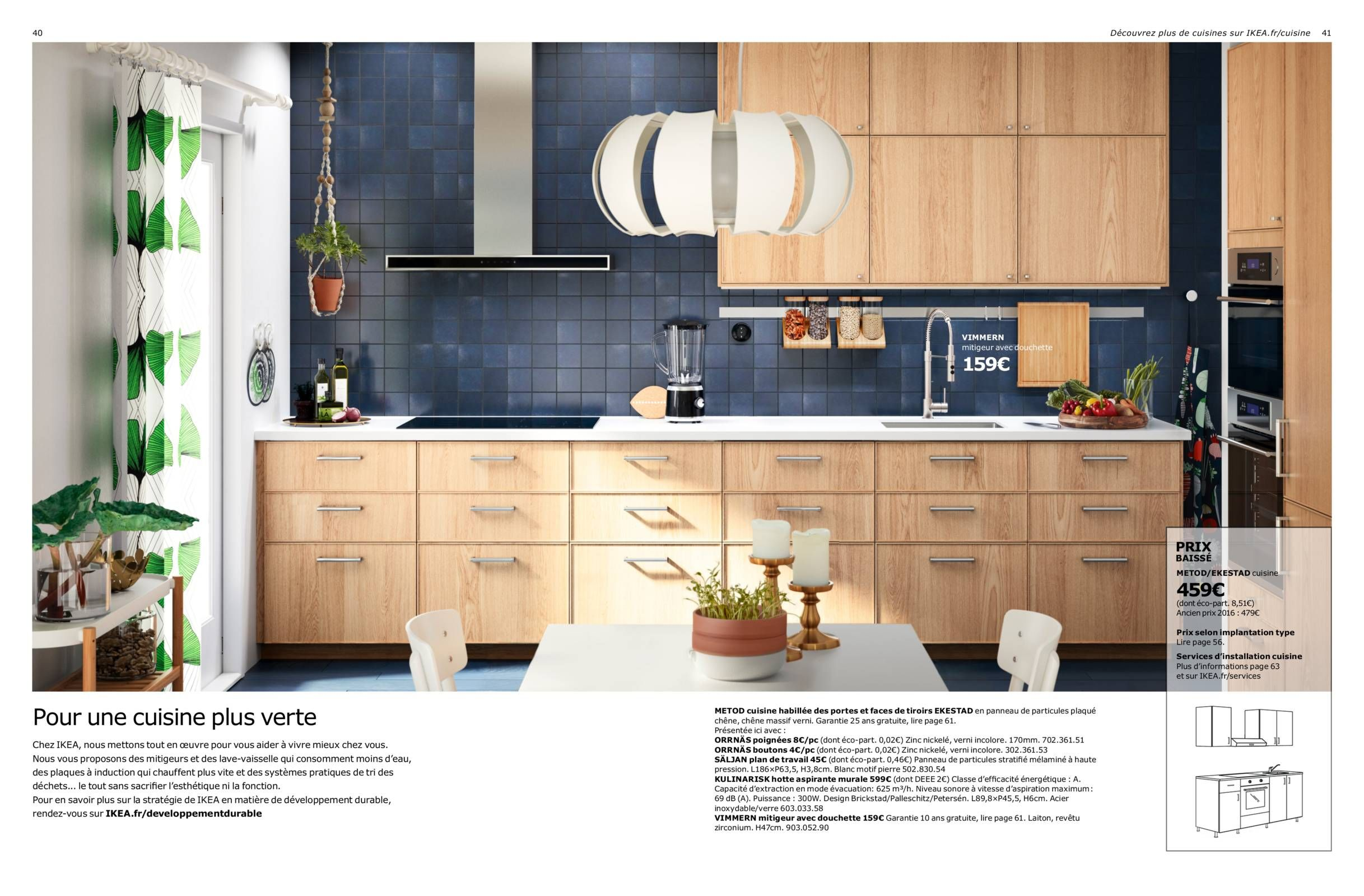 brochure cuisines ikea 2017 kitchen. Black Bedroom Furniture Sets. Home Design Ideas